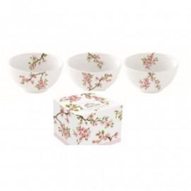 Porcelán tálka szett Sakura
