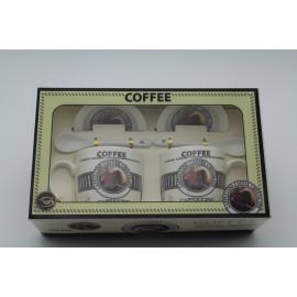 Kerámia bögre szett Coffee
