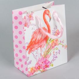 Ajándéktasak flamingós