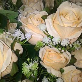 Rózsacsokor, művirág