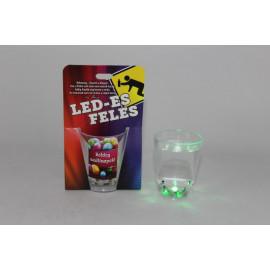 LED-es feles, szülinap