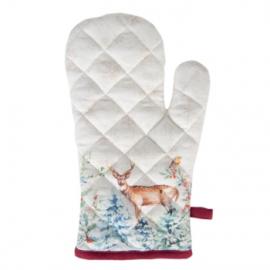 Karácsonyi textil kesztyű