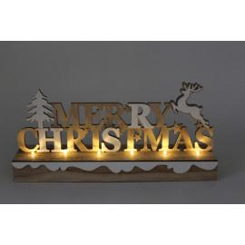 Merry Christmas világító...
