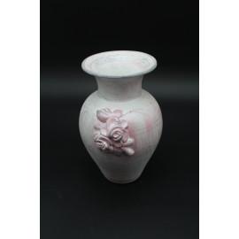 Rátétes kerámia váza