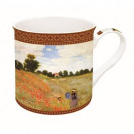Monet: Pipacsmező, porcelán
