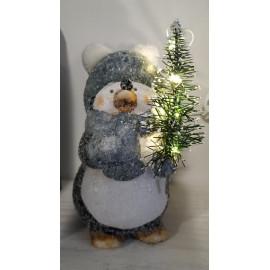 Ledes pingvin figura