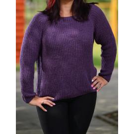 Kötött pulóver gyapjúval