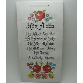 Fatábla - Házi áldás