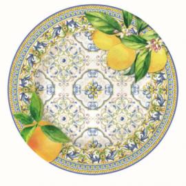 Capri desszert tányér