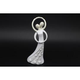 Esküvői pár szobor