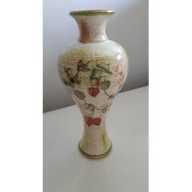 Váza őszi motívummal