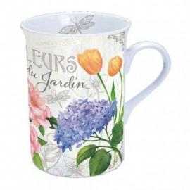 Porcelán bögre Fleurs Du...