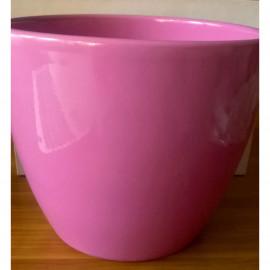 Kerámia kaspó pink