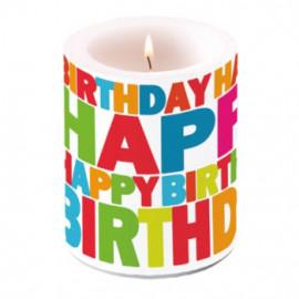 Gyertya - Happy Birthday