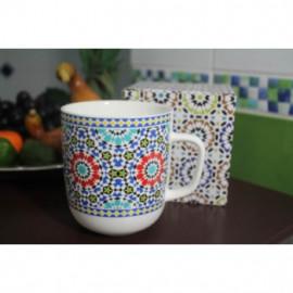 Porcelán bögre Marokko