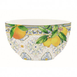 Porcelán tálka, Capri Agrumi
