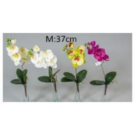 Élethű gumi orchidea gyökérrel