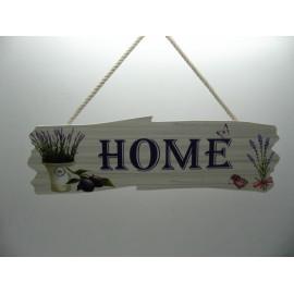 Fa ajtódísz HOME