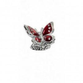 Fém pillangó kövekkel